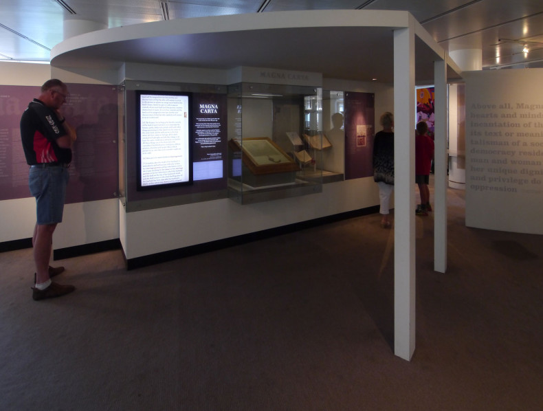 Design an exhibition around Australia's copy of the original Magna Carta