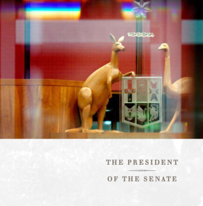 promoting the office of the President of the Senate