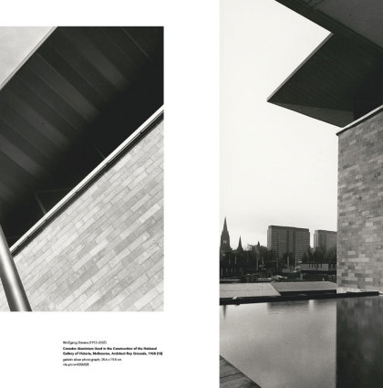 book design: Wolfgang Sievers photographer