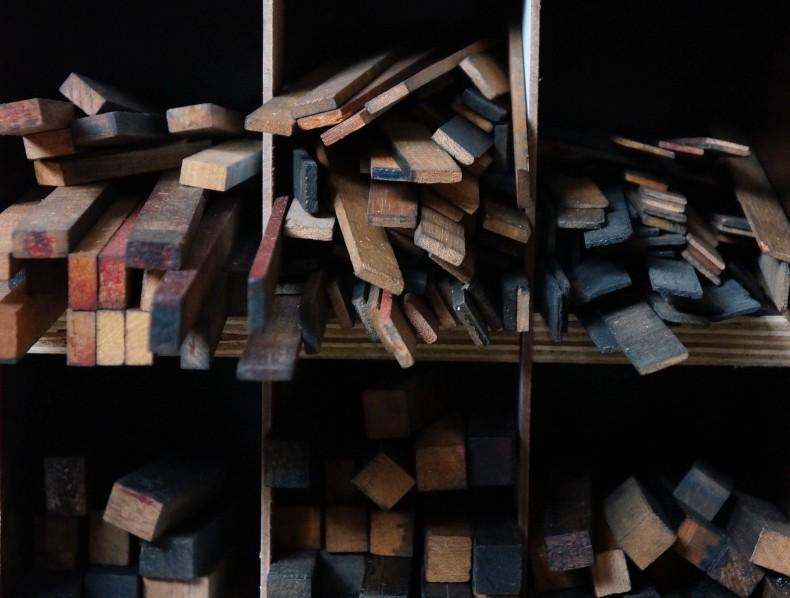 letterpress: impressions on paper